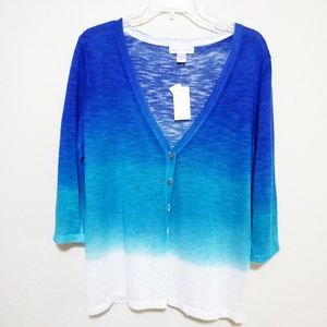 Christopher & Banks Ombre Cardigan